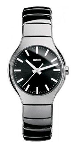 Rado True plata–tono Cerámica Unisex Reloj r27656162