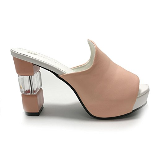 Sandali Signora Sandali Casual Scarpe Trampolieri Esterni Pink