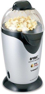 Orbit Chuck Popcorn Maker (silver/ Black)