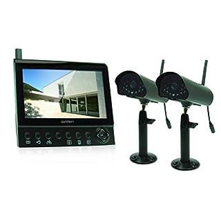 Avidsen 123363Set Überwachung Farbe Digital, schwarz, 2-teiliges Set