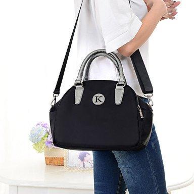 Ein-Schulter-Cross-Portable Frauen Handtaschen Taschen Deep Blue