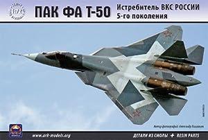 "Ark Models AK72036 - Escala 1:72 ""PAK FA T-50 Aerospace Force 5th-Generation Fighter Modelo de plástico"