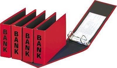 Basic Bank (Pagna Bankordner Basic Colors (Ordner Kontoauszüge)  rot)