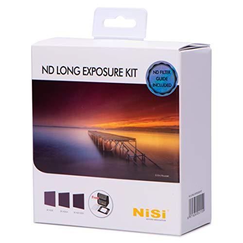 NiSi 100mm ND Filter-Kit Long Exposure - ND8, ND64, ND1000 und Zubehör