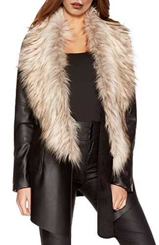 new-womens-black-pu-fur-waterfall-jacket-ladies-faux-fur-fallaway-coat-size-8-16-12-black