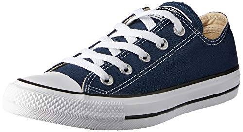 Converse Unisex-Erwachsene Chuck Taylor All Star-Ox Low-Top Sneakers, Blau (Navy), 40 EU - Womens La Beaux Sterne