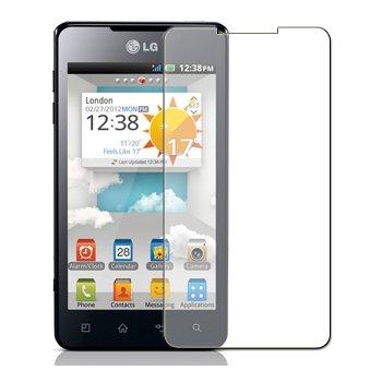 6 x Displayschutzfolie passgenau für LG P720 Optimus 3D Max - Anti-Kratzer Displayschutz unsichtbar Folie