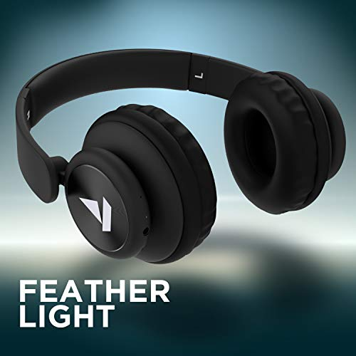 boAt Rockerz 450 Wireless Bluetooth Headphone (Luscious Black) Image 7
