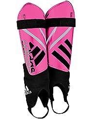 adidas Ghost Replique - Espinillera unisex, color rosa / negro, talla S
