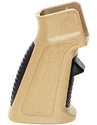 Airsoft tir Gear APS interchangeable avant et arrière Pad Phantom surcharge Poignée pistolet pour M-Series Terre sombre/noir