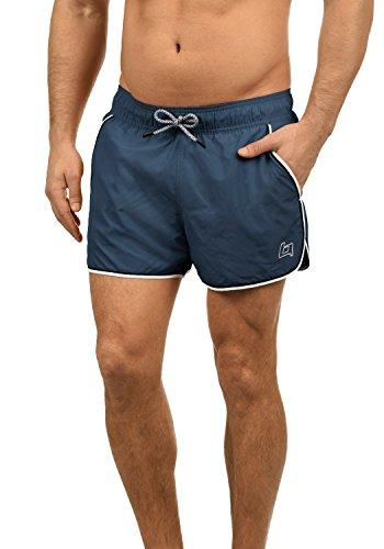 Blend Balderian Herren Badehose Badeshorts Schwimmshorts Mit Kordel, Größe:XXL, Farbe:Denim Blue (74646)