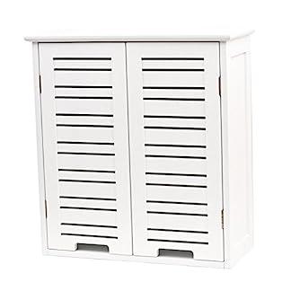 41jIeg7Xb4L. SS324  - Mueble Miami con dos puertas y estanterías de madera