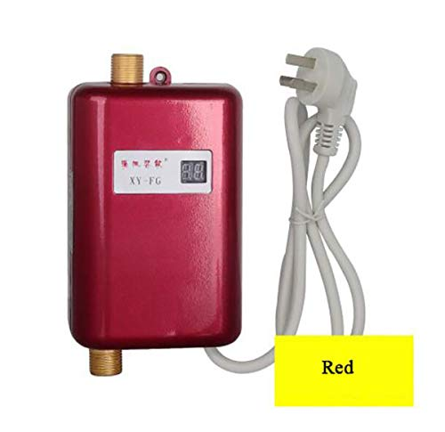 WG Sofortiger elektrischer Warmwasserbereiter Warmwasserküche Schnellheizung Thermostat Haushalt Calentador de agua 220V,B