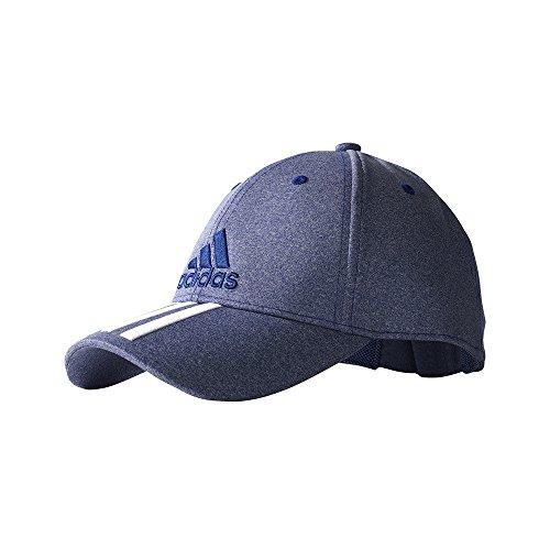 Adidas 6P 3S CAP MELAN BLACK/WHITE - OSFM (Running-cap Adidas)