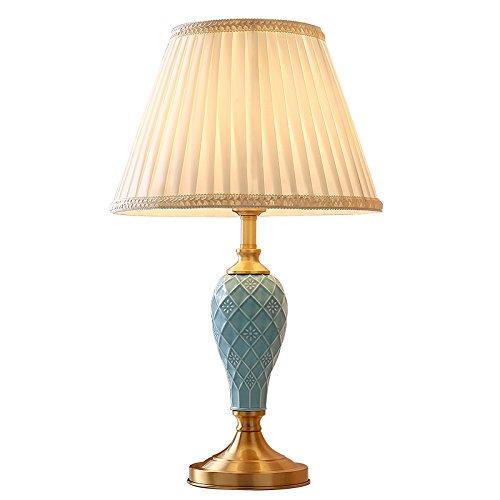 Dcasa Fantasy Lampe de chevet orientale en céramique blanche pour ...