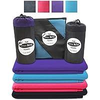 Little Big Towel Mikrofaser-Handtuch für Sport, Freizeit & Reise – Großes, Schnelltrocknendes Campingtuch/Sporttuch/Schwimmtuch/Badetuch