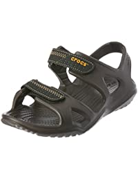5d8f71458416fb Amazon.co.uk  Crocs - Sandals   Men s Shoes  Shoes   Bags