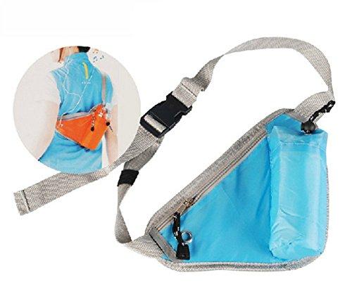 Chytaii Herrn Bergsteigen Gürteltaschen Outdoor-Sport Tasche mit Flaschenhalter für Laufen ,Wandern, Bergsteigen,Fahrradfahren, klettern