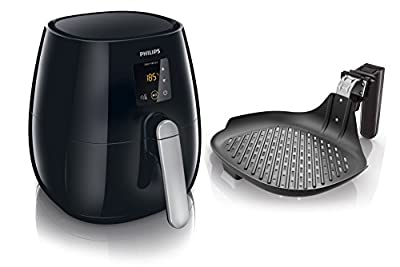 Philips hd9236/20Friteuse Airfryer Friteuse à air chaud avec poêle grill