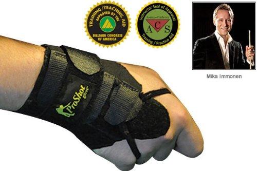 Dynamic Billard Trainingshandschuh Straight Shot Gloves, Schwarz, M, 45.170.00.0