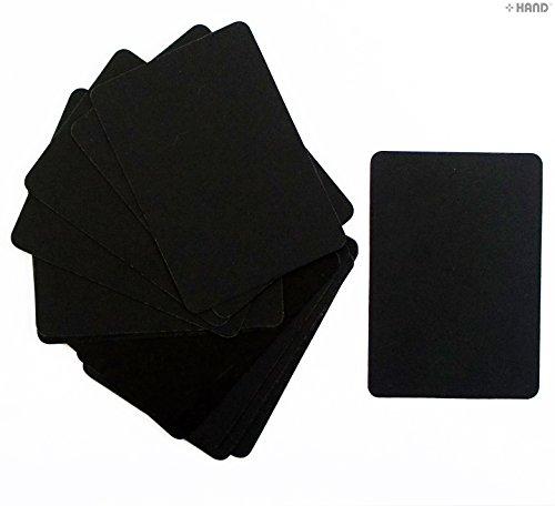 hand-well-made-tools-lot-de-15-mini-tableaux-pour-affichage-sur-lesquels-crire-la-craie-7x-10cm