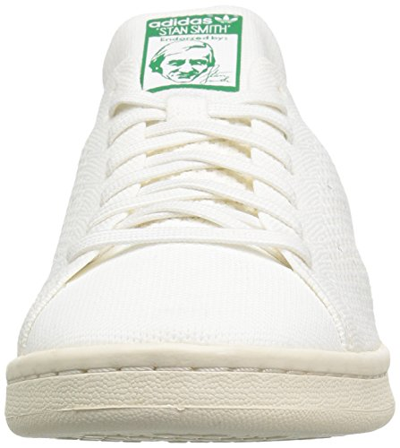 Adidas Stan Smith Prime Knit Synthétique Baskets Ftwwht-Ftwwht-Cwhtite