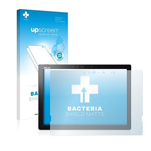 upscreen Bacteria Shield Matte Bildschirmschutz Schutzfolie für Asus Transformer 3 Pro T303UA (antibakterieller Schutz, matt - entspiegelt)