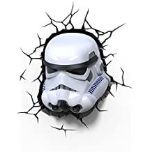 3D Deco Light Stormtrooper - Lámpara de pared