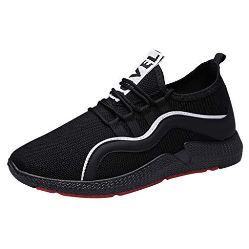 ODRD Schuhe Herren Mode Herren schnüren Sich Oben die sportlichen zufälligen Turnschuhe Feste Schuhe Wanderstiefel Hallenschuhe Worker Boots Laufschuhe Sportschuhe Wanderschuhe