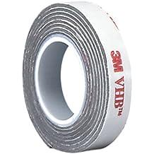 "tapecase 0,375–5-rp25VHB RP250,375""x 5YD rollo cintas adhesivas, 25mil (0,6mm) de espesor"