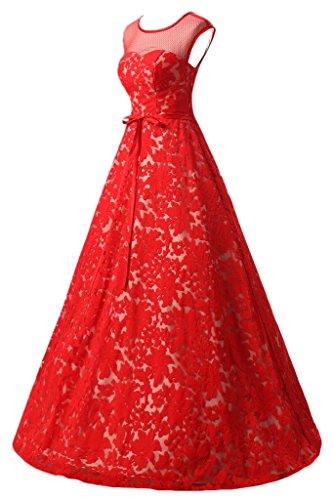 Missdressy - Robe - Trapèze - Femme Rouge