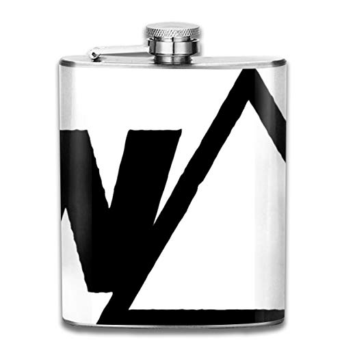 Werert Stainless Steel Flasks 7 Oz Swag Whiskey Flask Hip Flask Leak Proof Wine Men Women