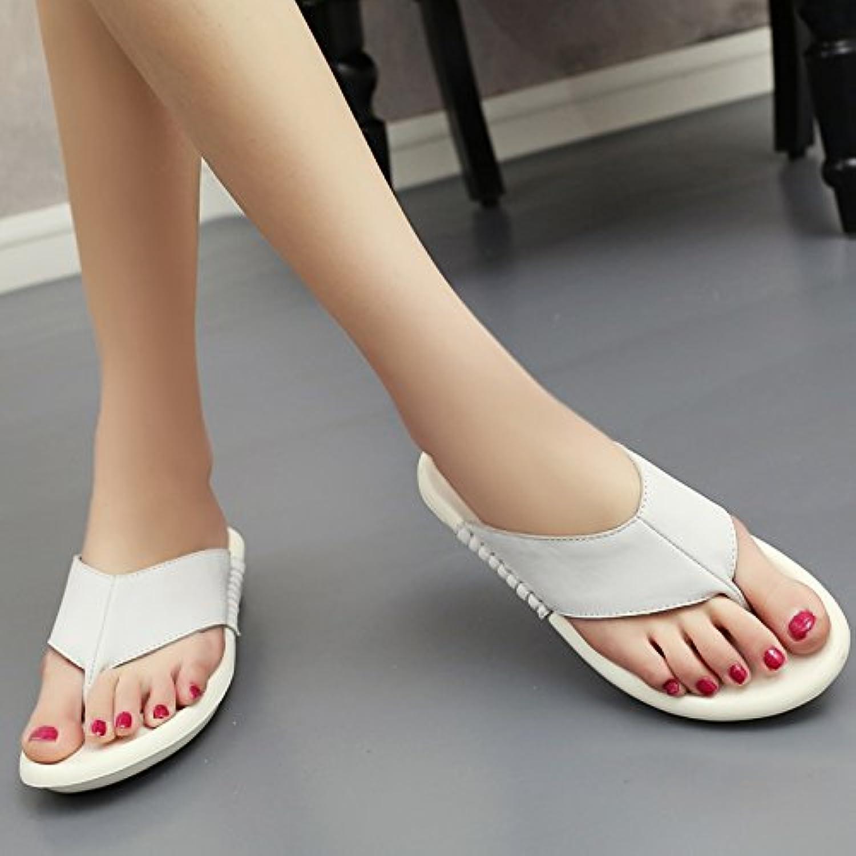 Qingchunhuangtang@ Qingchunhuangtang@ Qingchunhuangtang@ Pantofole Con Frossodo Pantofole E Dal Fondo Piatto Toe Pantofole Per Sandali Antislittamento... | Lavorazione perfetta  0e0bc2
