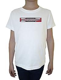 Ocean Spirit Niño Niños Camiseta Cuello Redondo Blanco Algodón Manga Corta Boys Kids T-shirt White