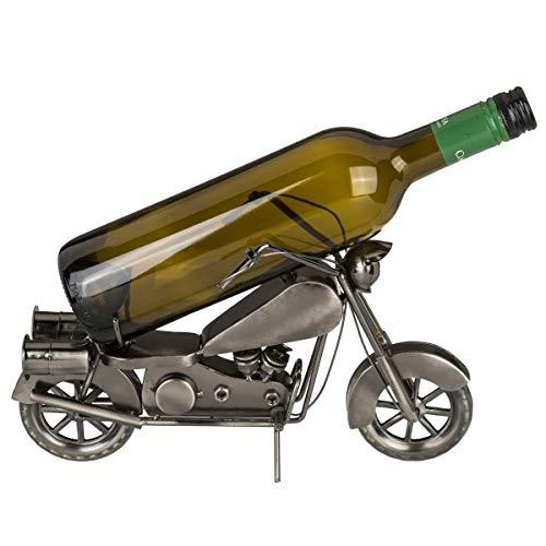 OOTB Metall-Flaschenhalter Motorrad, ca. 31 x 17 cm # 71/3170
