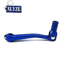 XLYZE CNC Palanca de cambio de palanca de cambios plegable de aluminio azul para 50cc 110cc