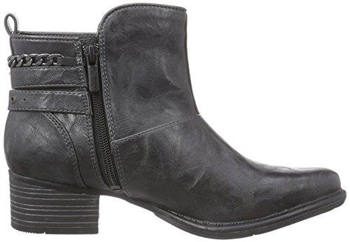 Mustang Damen Kurzschaft Stiefel Grau (900 anthrazit)