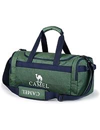 3ad105e7c5a73 CAMEL CROWN Sporttasche 35L Reisetasche Praktische Sport-Tasche mit vielen  Fächern Schultergurt Tragegurt Zweiwege-Reißverschluss…