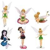 JPYH Estatuas en Miniatura, 6 Juegos de Mini Decoraciones de jardín, estatuas de paisajes en Miniatura de Bricolaje, utilizad