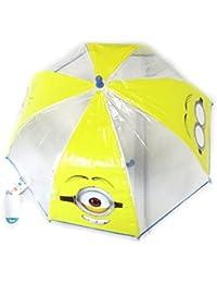 Niño paraguas Minionsamarilla transparente (63 ...