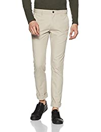 Arrow Sports Men's Straight Fit Cotton Casual Trousers
