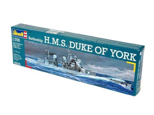 Imagen principal de Revell Modellbausatz 05105 H.M.S. Duke of York - Maqueta de barco (escala 1:700) [importado de Alemania]