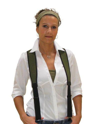 Niggeloh Hosenträger, oliv, 021100070 (Hosenträger Tragen)