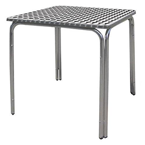 Papillon 8042010 - Mesa para terraza de aluminio, 60 x 60 x70 cm