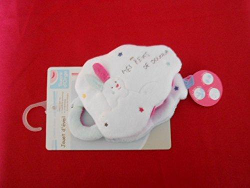 Sucre D'Orge - BabyProducts - Mixte - livre d eveil lapin - Taille UNIQUE - Couleur gris
