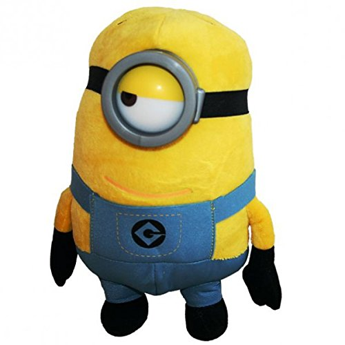 "Minion Stuart Plush - Despicable Me 2 - 28cm 11"" - 33cm 13"""