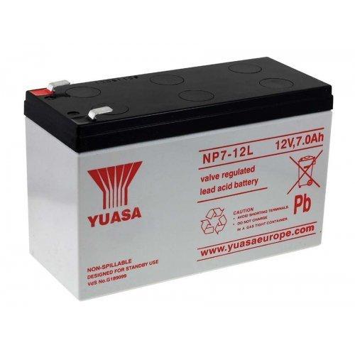 Yuasa - Batteria AGM Piombo NP7-12L 12V 7Ah YUASA - Batteria/