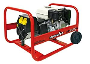 Mecafer 450129 Groupe électrogène 4 temps honda 2590 W