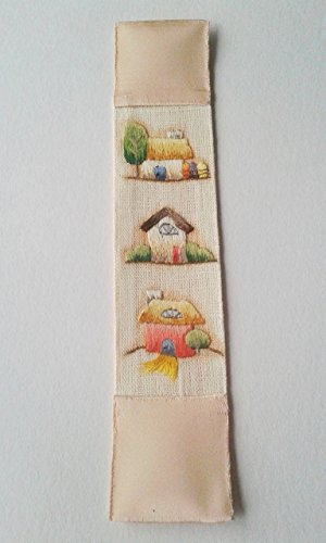 vintage-style-watercolor-country-cottages-hand-embroidered-bookmark-unique-present-for-a-book-lover-