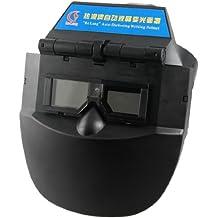 De plástico de color negro de soldar de seguridad para soldar máscara de cara de Protector de pantalla para soldador